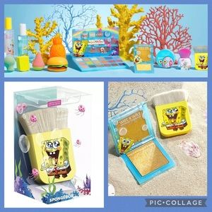 WnW Spongebob Collection Flat Kabuki Brush